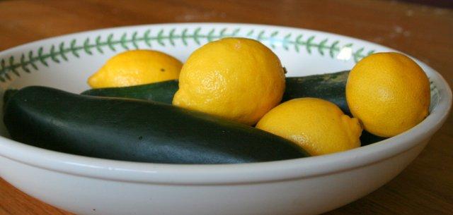 Lemons & Courgettes